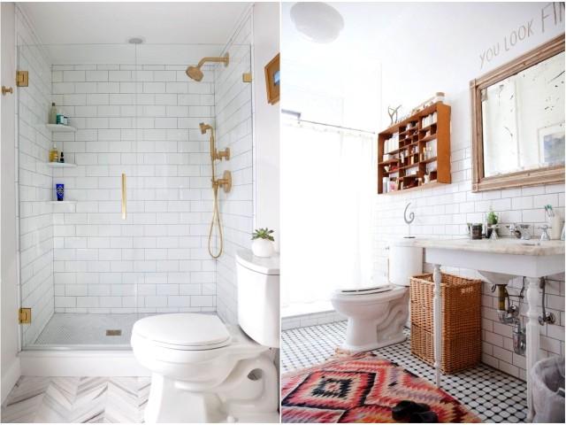 baño con azulejos metro-tiles